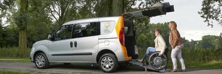 Vervoer Zonnebloemauto Roosendaal