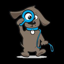 Anti trekband hond