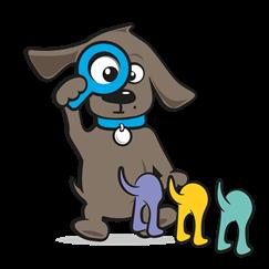 Kapstok hond