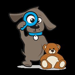 Honden knuffel