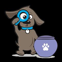 Honden urn