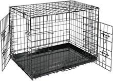 REKE Hondenbench - Zwart - 91 x 61 x 67 cm