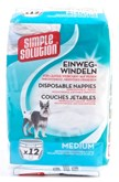 Simple solution wegwerp honden luier