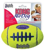 Kong air squeaker football geel